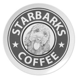 Assiette chien Starbucks