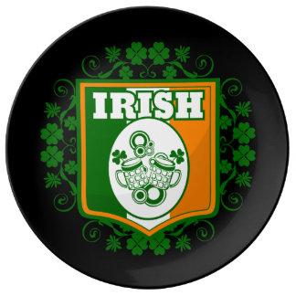 Assiette En Porcelaine Bière du jour de St Patrick