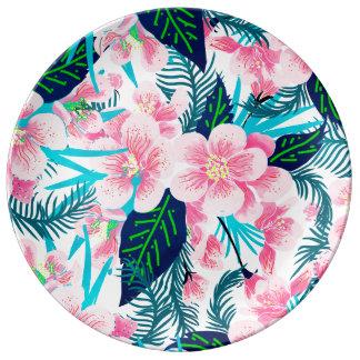 Assiette En Porcelaine Cadeau floral