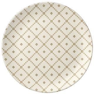Assiette En Porcelaine Conception graphique
