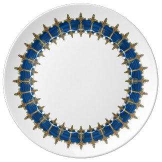 Assiette En Porcelaine Épées celtiques