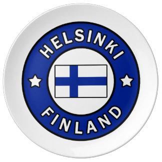 Assiette En Porcelaine Helsinki Finlande