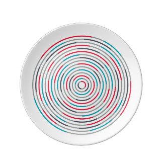 Assiette En Porcelaine #Hypnotize