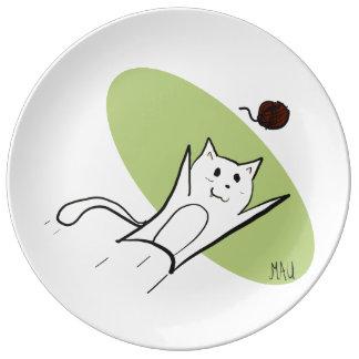 Assiette En Porcelaine Jeu de Mau