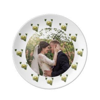 Assiette En Porcelaine Jeunes mariés