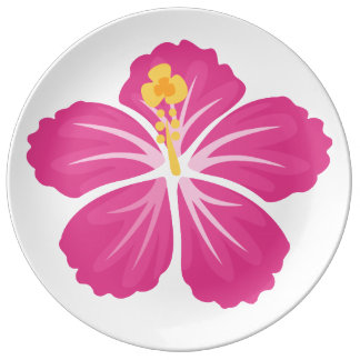 Assiette En Porcelaine Ketmie