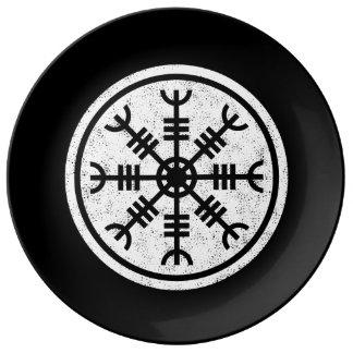 Assiette En Porcelaine La barre de la crainte Vikings