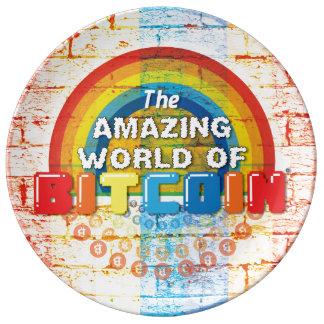 Assiette En Porcelaine Le monde extraordinaire de Bitcoin