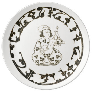 Assiette En Porcelaine Plat de Seljuk dans la porcelaine