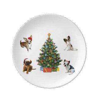 Assiette En Porcelaine Quatre Santa