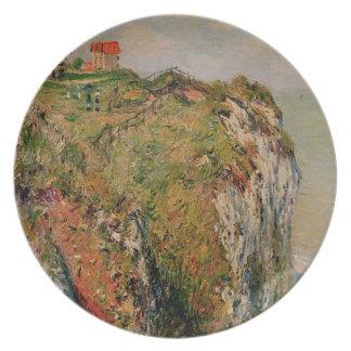 Assiette Falaise de Claude Monet   chez Dieppe, 1882