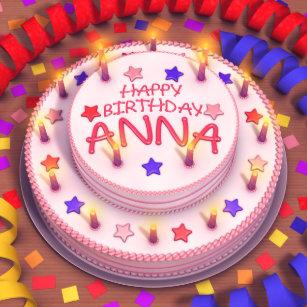 Joyeux Anniversaire Anna.Articles Joyeux Anniversaire Anna De Maison Decoration