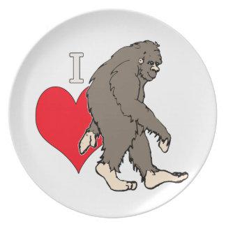 Assiette j'aime Bigfoot, 2