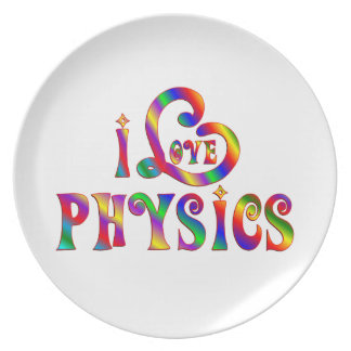 Assiette J'aime la physique