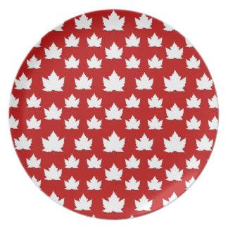 Assiette Le Canada plaque des plats de souvenir du Canada -