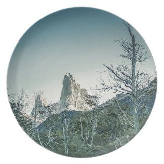 Assiette Montagne de Fitz Roy, Patagonia - Argentine
