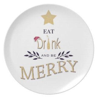 Assiette Noël