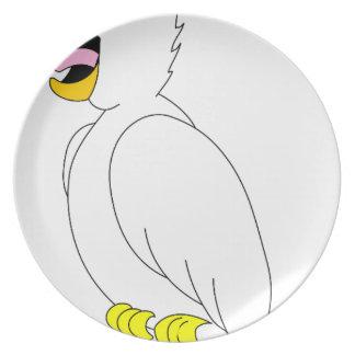 Assiette perroquet #3