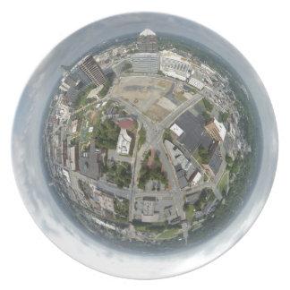 Assiette Planète minuscule de Greensboro