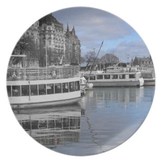Assiette Plat de bord de mer de Stockholm