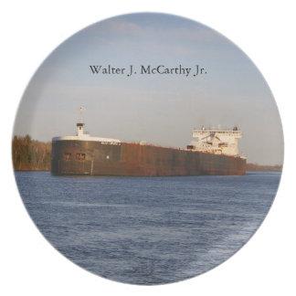 Assiette Plat de Jr. de Walter J. McCarthy
