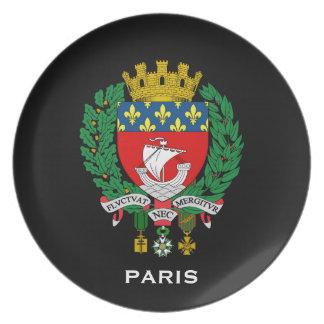Assiette Plat de Paris France CollectorsSouvenir