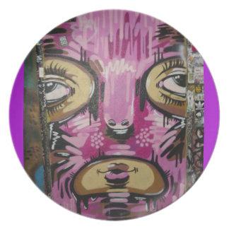 Assiette Plat masqué