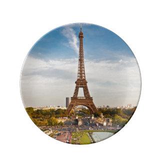 Assiette porcelaine Tour Eiffel #8