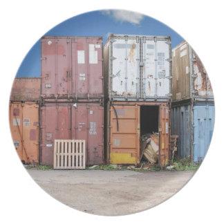 Assiette Récipient de cargaison industriel pour