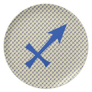 Assiette Symbole de Sagittaire