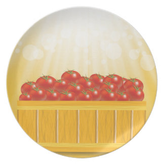 Assiette tomates