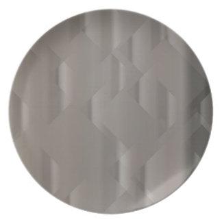 Assiettes En Mélamine Arrière - plan argenté abstrait