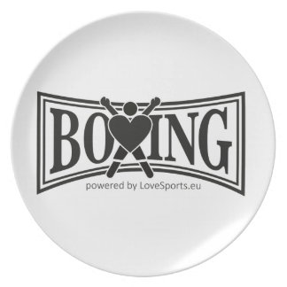 Assiettes En Mélamine Boxe-style