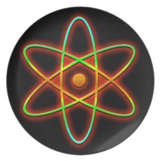 Assiettes En Mélamine Concept atomique
