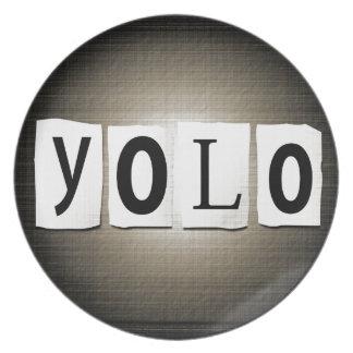 Assiettes En Mélamine Concept de YOLO