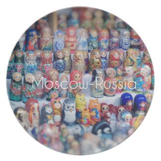 Assiettes En Mélamine dolls_russia