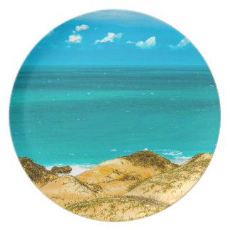 Assiettes En Mélamine Dunes et océan Jericoacoara Brésil