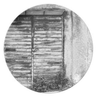 Assiettes En Mélamine Guerre biologique oubliée par magasin abandonnée