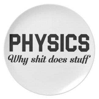 Assiettes En Mélamine La physique bourre