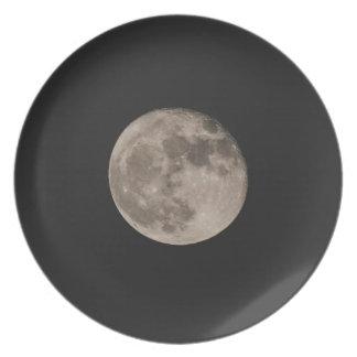 Assiettes En Mélamine Lune