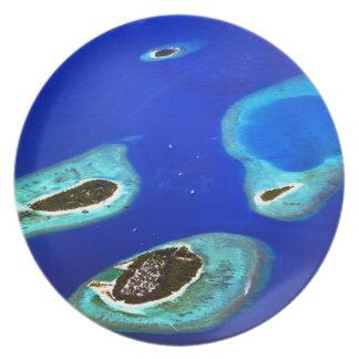 Assiettes En Mélamine Maldives