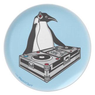 Assiettes En Mélamine penguinX3 [1]