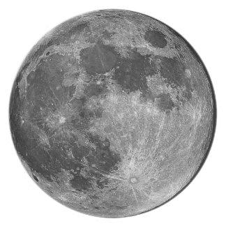 Assiettes En Mélamine Plat de lune
