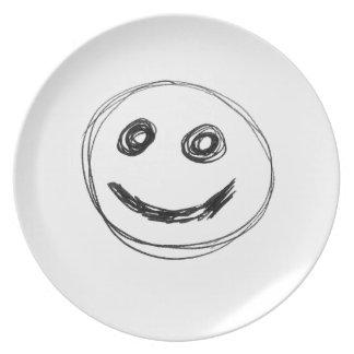 Assiettes En Mélamine sourire