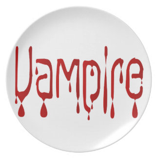 Assiettes En Mélamine Vampire