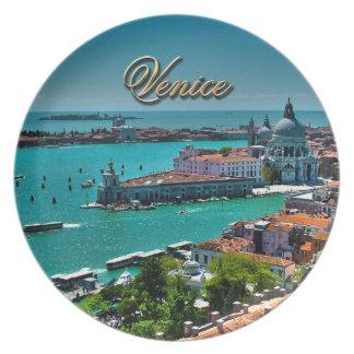 Assiettes En Mélamine Venise, Italie - vue aérienne