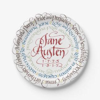 Assiettes En Papier Adaptations de drame de période de Jane Austen de