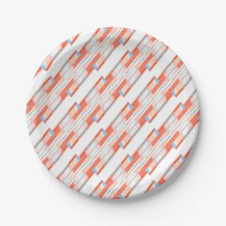 Assiettes En Papier arrière - plan de texture et de résumé