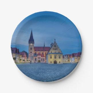 Assiettes En Papier Bardejov est une ville de la Slovaquie