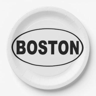 Assiettes En Papier Boston le Massachusetts